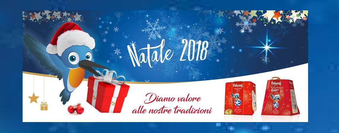 Al via la campagna di Natale 2018